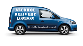 London Booze Delivery Van